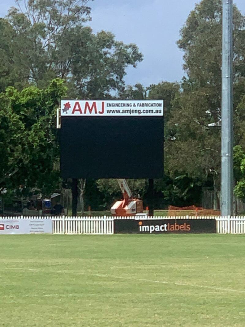 Morningside Panthers AFL Club Scoreboard 1